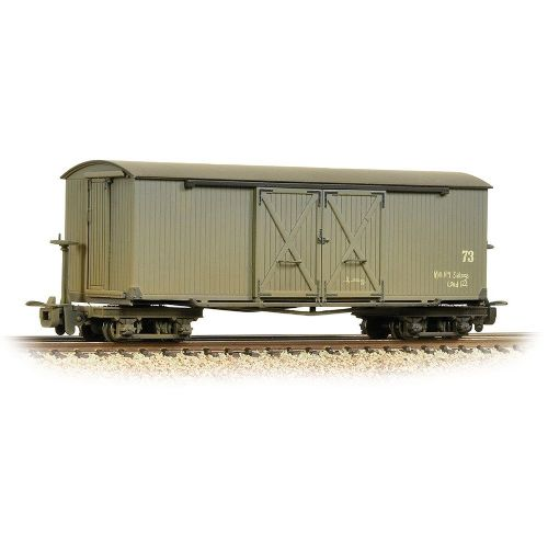 393-026A Bachmann Bogie Covered Goods Wagon Nocton   Estates L. R. Grey [W